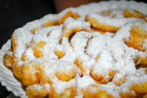 A funnel cake from festival
